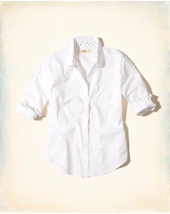 hol Button-Front Patterned Shirt