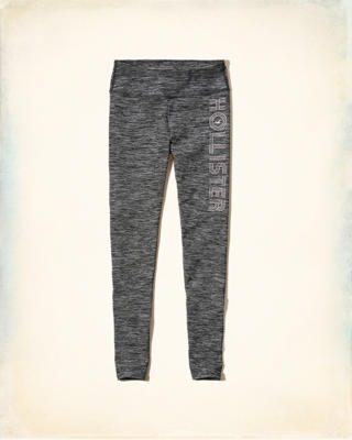 Hollister Cali Sport Textured Graphic Legging