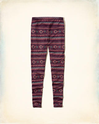 Hollister Cali Sport Patterned Legging