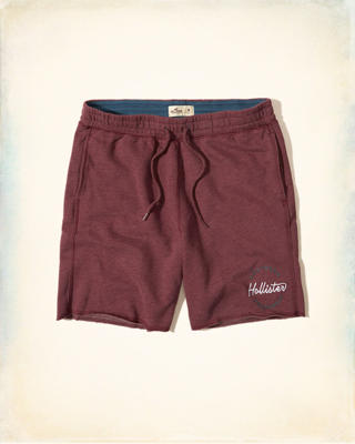 Logo Graphic Fleece Shorts