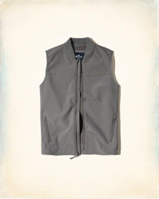 Fleece Lined Softshell Vest