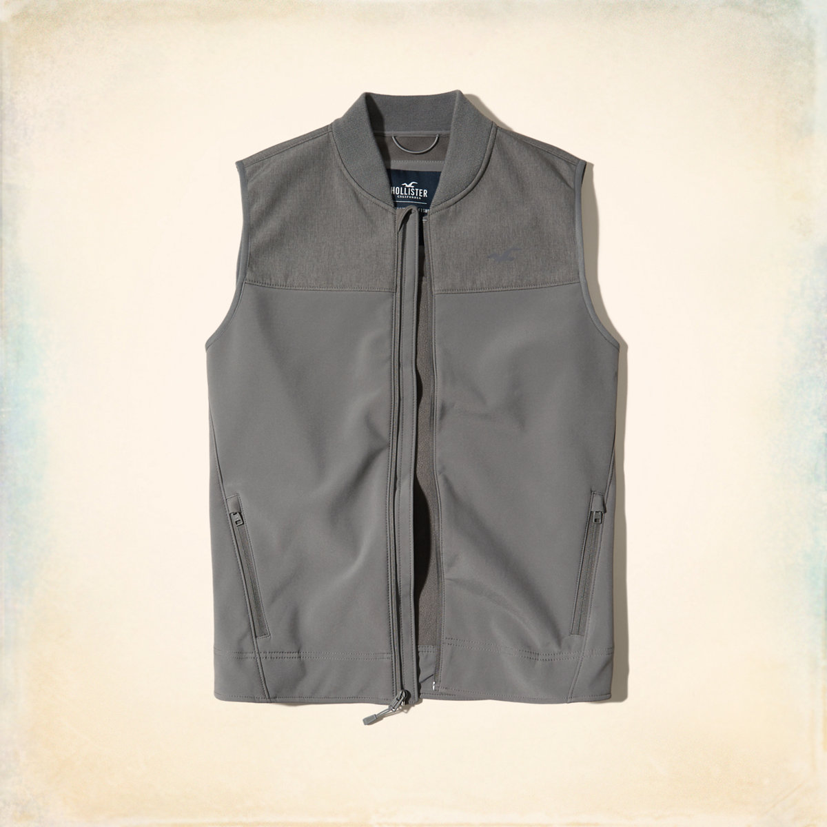 Fleece Lined Softshell Vest