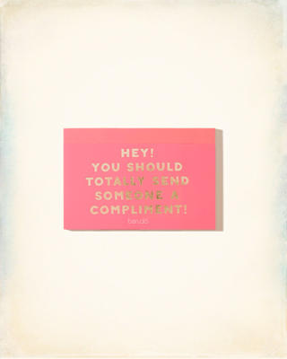 Ban.Do Compliment Postcard Book