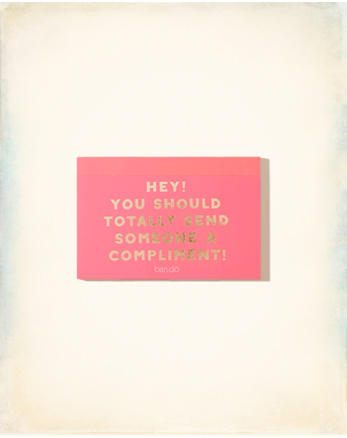 hol Ban.Do Compliment Postcard Book