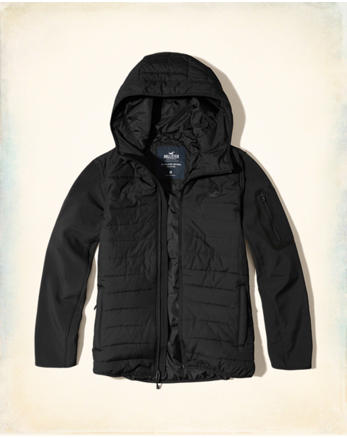 hol Softshell Puffer Jacket