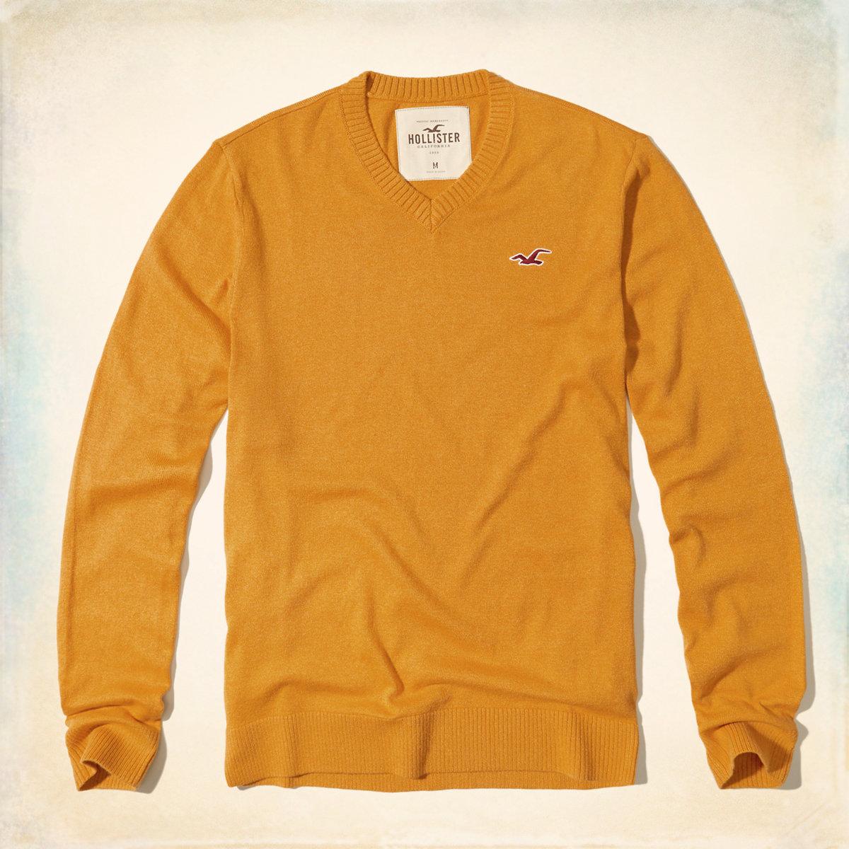V-Neck Icon Sweater