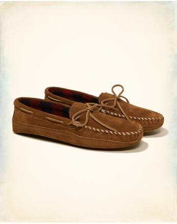 hol Minnetonka Double Bottom Fleece Moccasin
