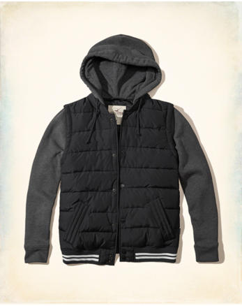 hol Hooded Puffer Jacket