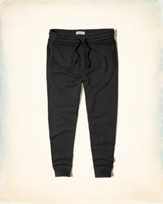 Hollister Textured Sweater Jogger Pants