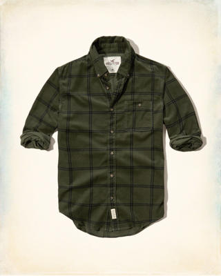 Plaid Corduroy Shirt