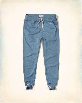 Hollister Tipped Jogger Pants