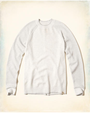 hol Textured Crew Sweater