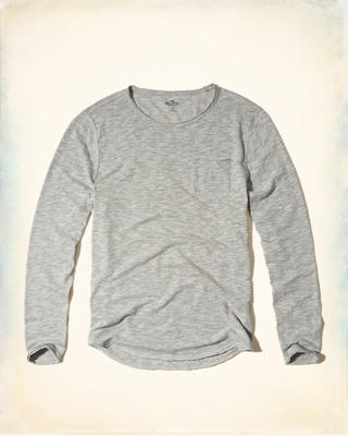 Long-Sleeve Easy Fit T-Shirt