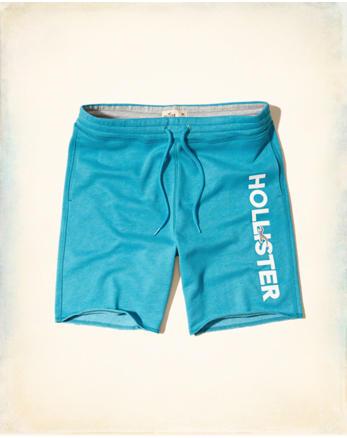 hol Logo Graphic Fleece Shorts