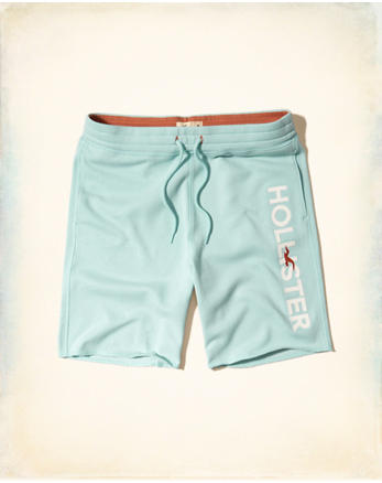 hol Logo Graphic Fleece Shorts
