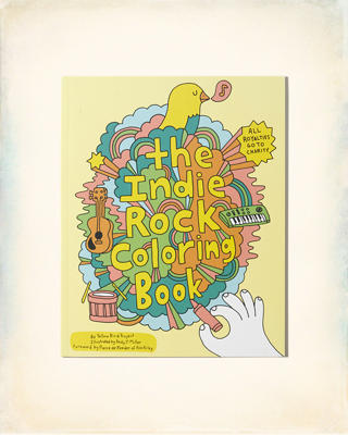 Chronicle Books Indie Rock Coloring Book