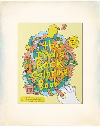 hol Chronicle Books Indie Rock Coloring Book