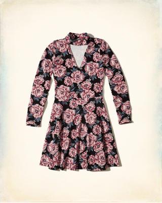 Hollister Kleid Blumen