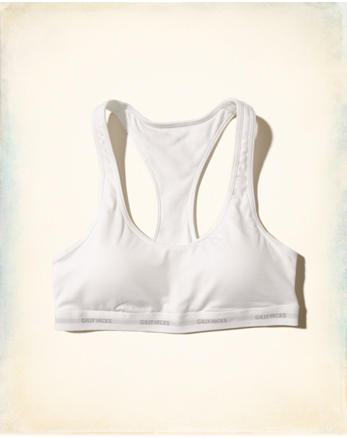 hol Scoop Racerback Bralette With Removable Pads