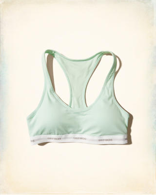 Scoop Racerback Bralette With Removable Pads