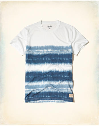 hol Tie-Dye Easy Fit T-Shirt
