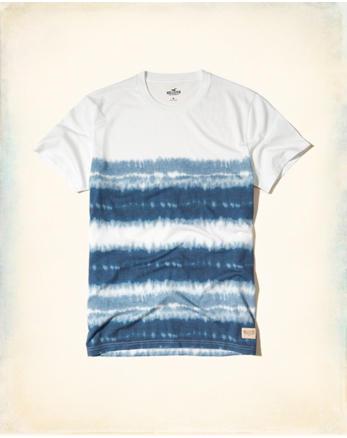 hol Tie-Dye Easy Fit T-Shirt