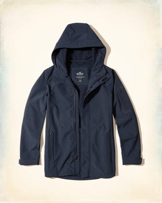 Softshell Hooded Parka