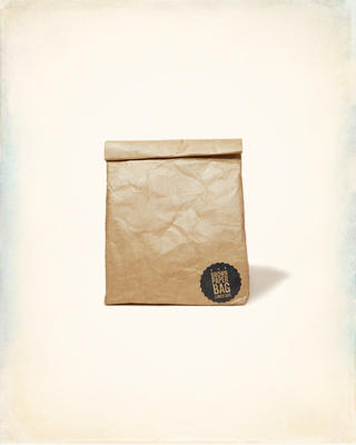 Luckies Brown Paper Lunch Bag
