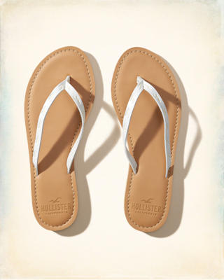 Vegan Leather Icon Flip Flop