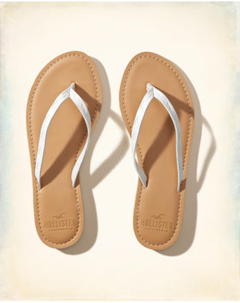 hol Vegan Leather Icon Flip Flop