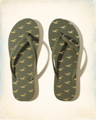Rubber Icon Flip Flop