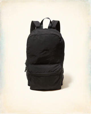 Logo Front Pocket Backpack