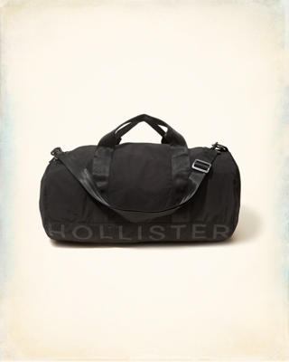 Logo Graphic Duffle Bag