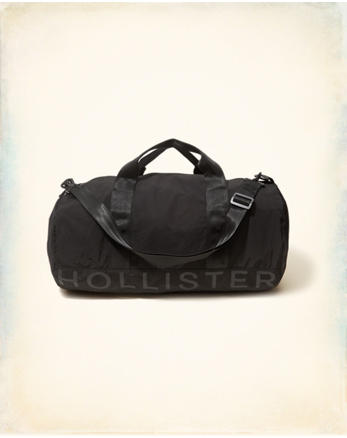 hol Logo Graphic Duffle Bag
