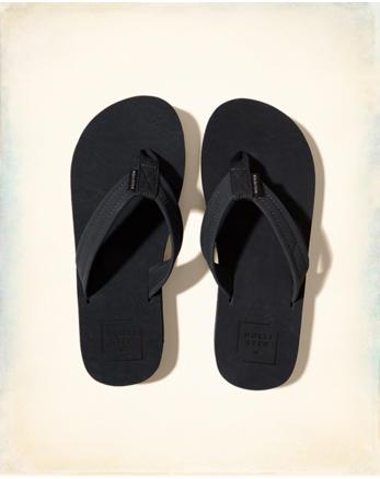hol Vegan Suede Flip Flops