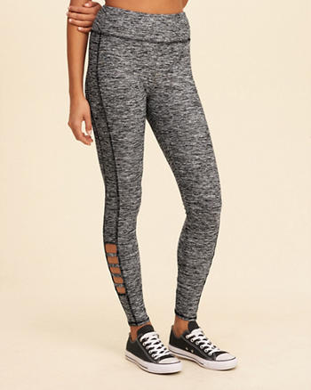 Strappy Active Leggings