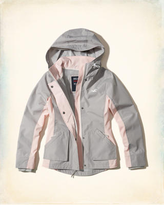 Hollister All-Weather Nylon Jacket