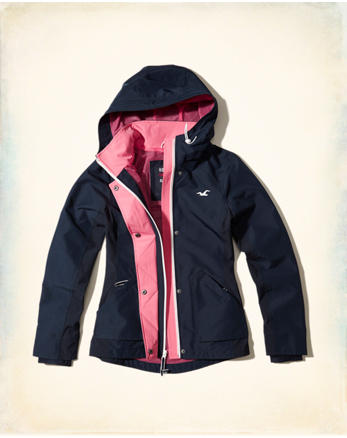 hol Hollister All-Weather Nylon Jacket
