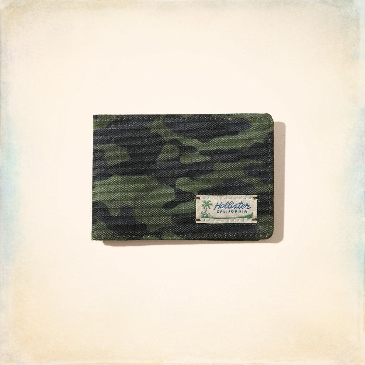 Camo Bifold Wallet