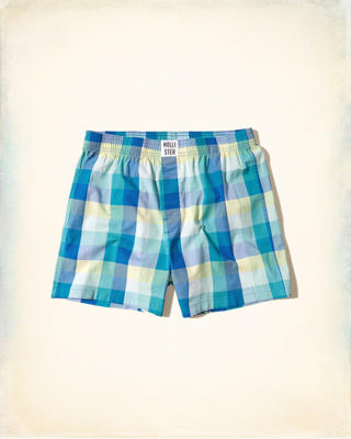 Hollister Patterned Woven Boxers