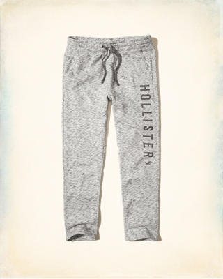 Hollister Graphic Straight-Leg Sweatpants