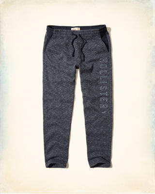 Graphic Straight-Leg Sweatpants