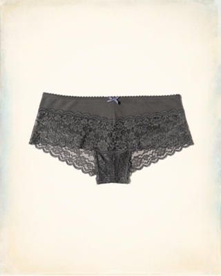 Lace -Trim Cotton Short