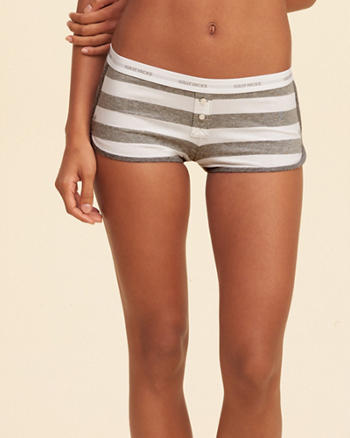 Knit Shortie Short