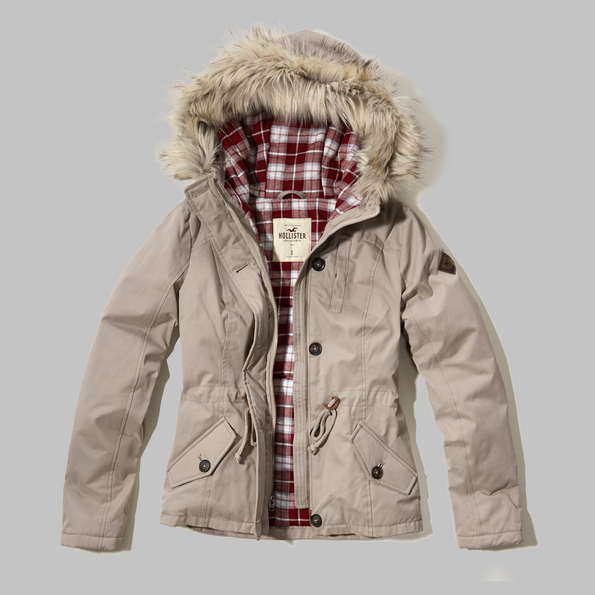 Flannel Lined Anorak