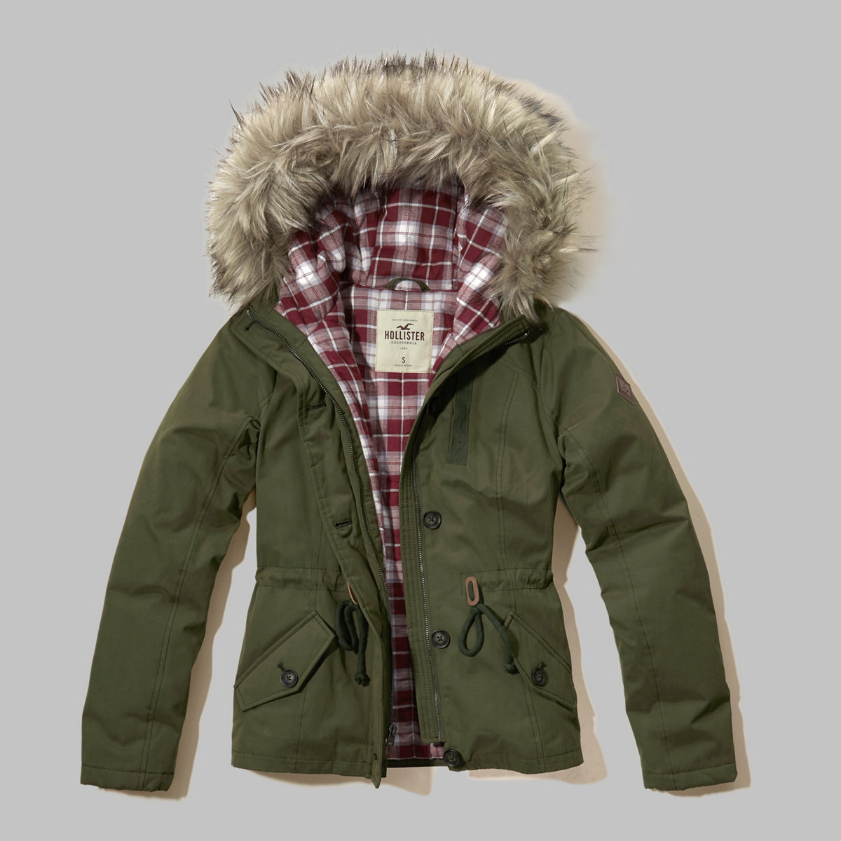 Flannel Lined Anorak Jacket