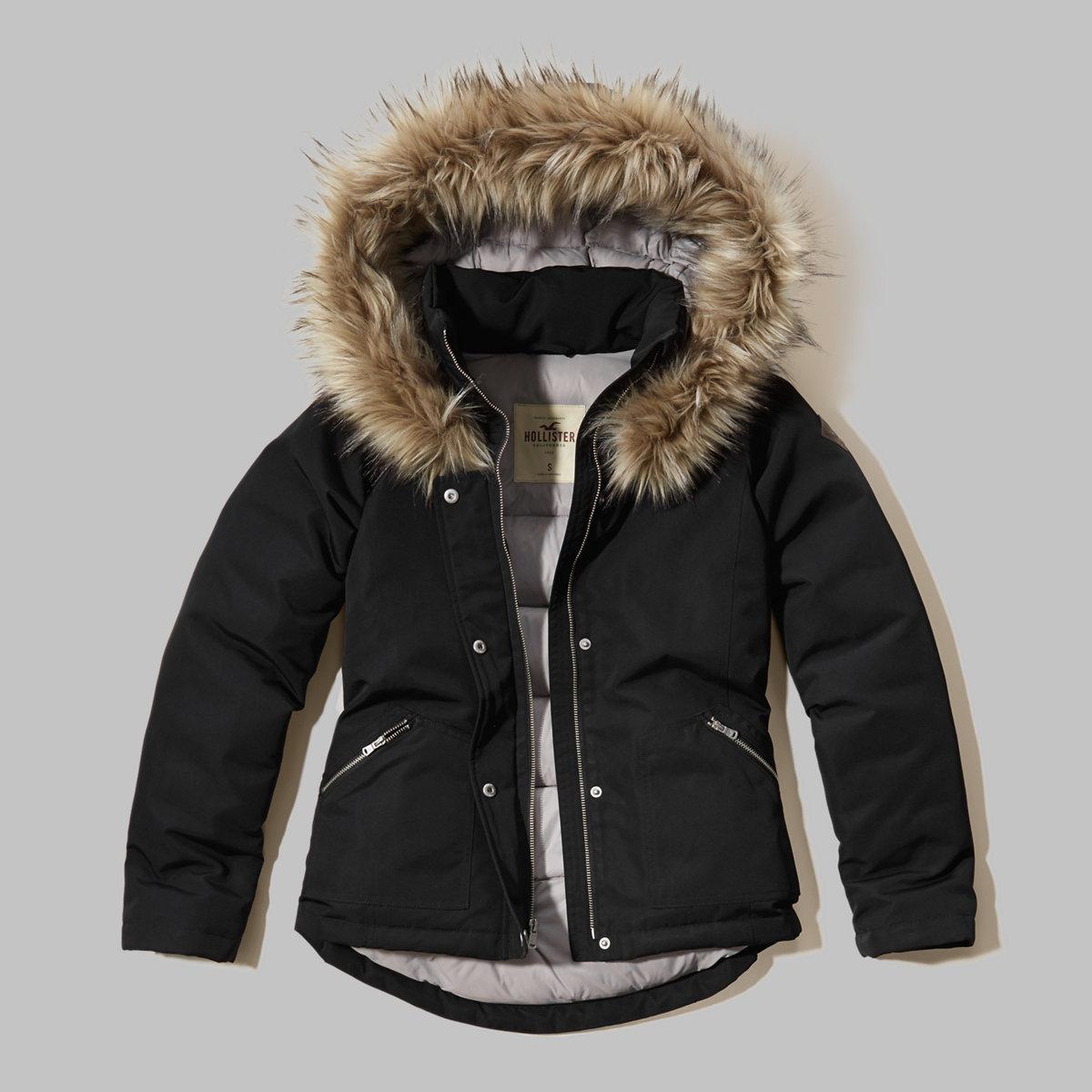 Down Anorak Jacket