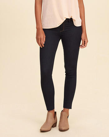 Hollister Low-Rise Crop Jean Legging