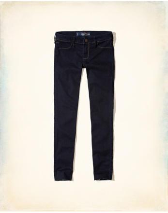 hol Hollister Low-Rise Crop Jean Legging
