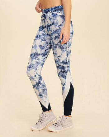Colorblock Active Leggings